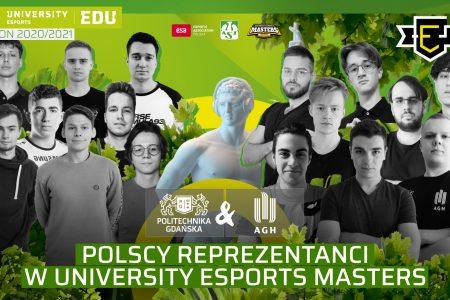 Polscy reprezentanci na University Esports Masters - Akademia Górniczo Hutnicza i Politechnika Gdańska